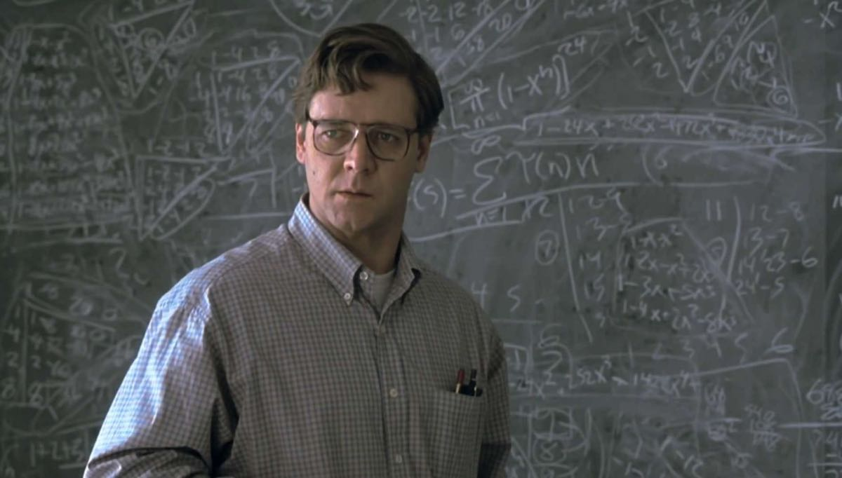 A Beautiful Mind (2001) by Ron Howard