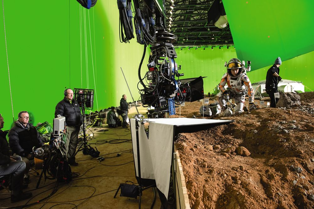 Shooting The Martian (by popsci.com)