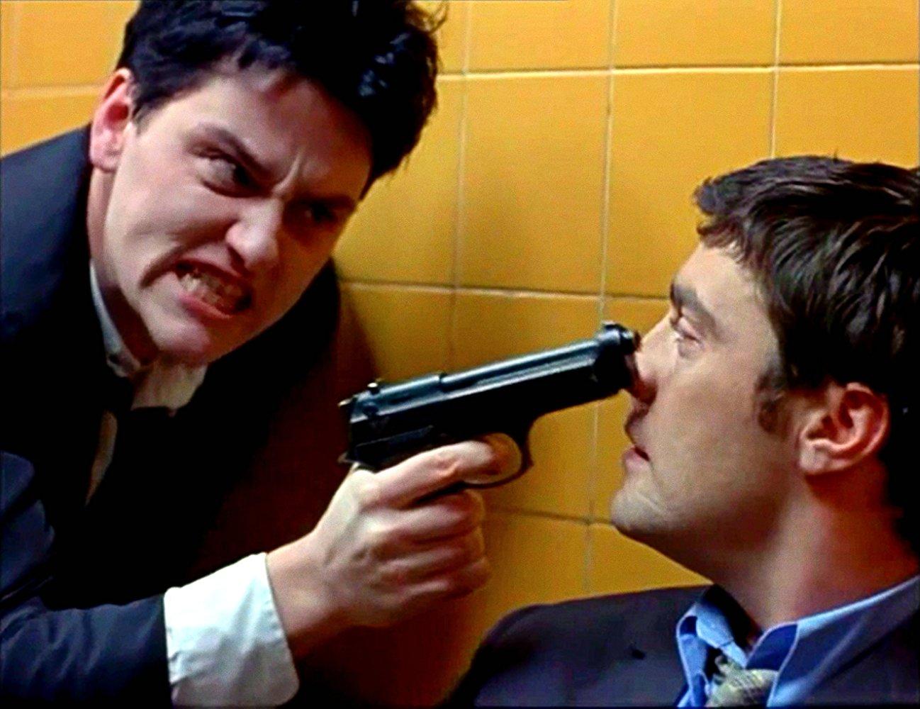 Hard Men (1996) by J.K. Amalou