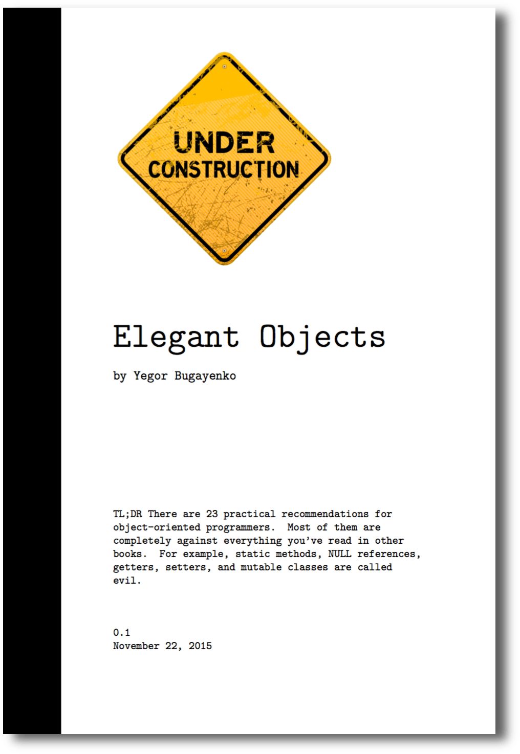 Elegant Objects